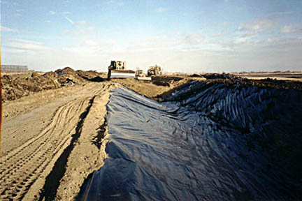 Irrigation and Canal Liner Geomembranes | Layfield Group - Layfield