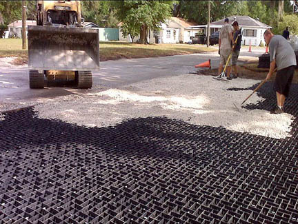 Geopave Permeable Paving System Layfield