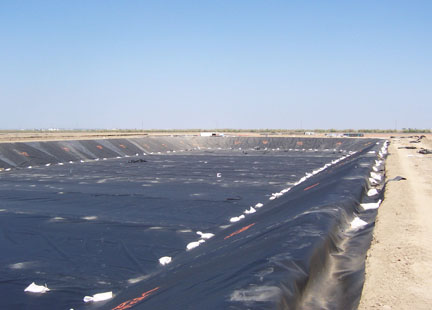 High density polyethylene hdpe liners layfield for Pond liner material