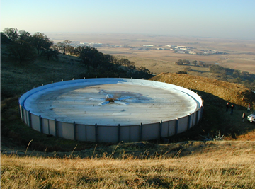 Layfield USA Water Storage Tank